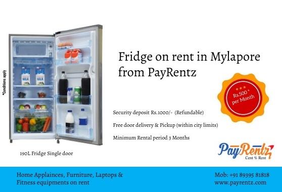 Rent fridge, fridge rental, hire fridges in Mylapore, Mylapore , fridge on rent, fridge for rent, home appliances on rent, rent appliances