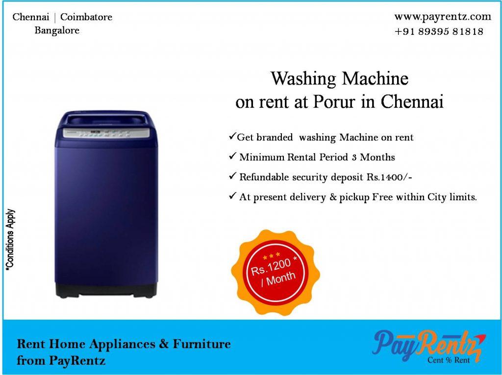 Washing Machine, Porur, DLF, Manapakkam, mugalivakkam, Bai Kadai Junction,