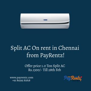 Air Conditioner (AC) on Rent in Chennai AC Rental, AC on Rent at Velachery in Chennai Rent Air Conditioner in Chennai